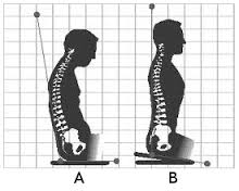 diagram for perfect posture